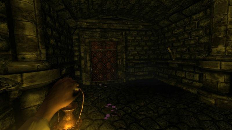 Амнезия. Призрак прошлого / Amnesia: The Dark Descent v.1.2.1 (2010/PC/Rus