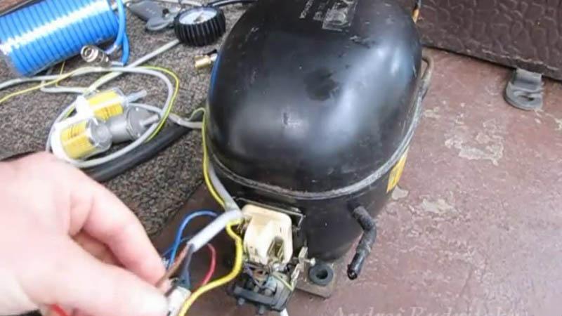 Как сделать компрессор для накачки колес